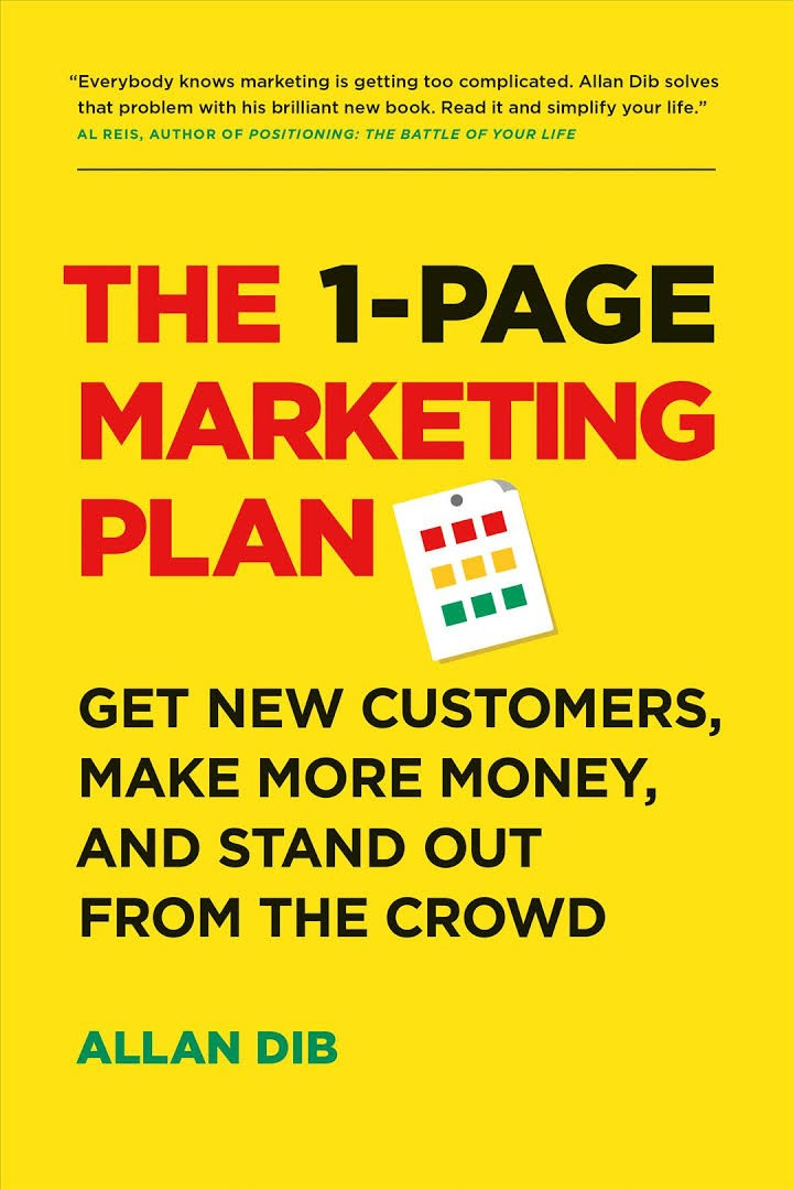 The 1Page Marketing Plan